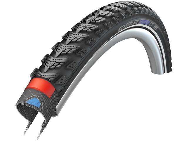 """SCHWALBE Marathon GT 365 Drahtreifen 20"""" DualGuard E-50 Performance Reflex black"""